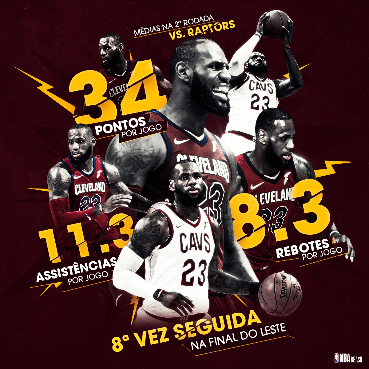NBA-especiais-Playoffs-Lebron-James-Médias