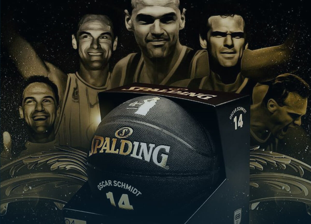 Spalding. A basketball's icon tribute.